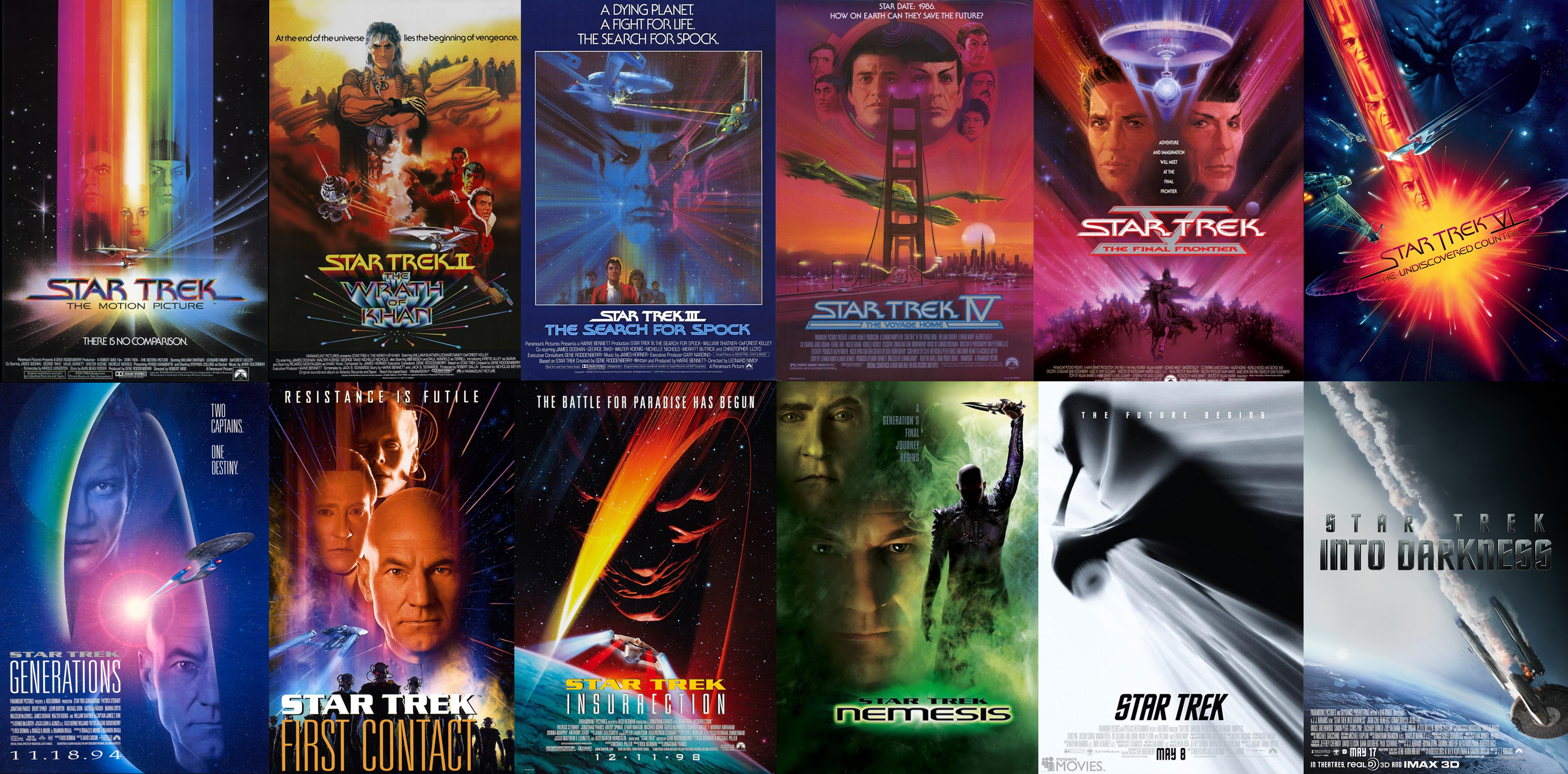 friday five movie franchises insufficient scotty