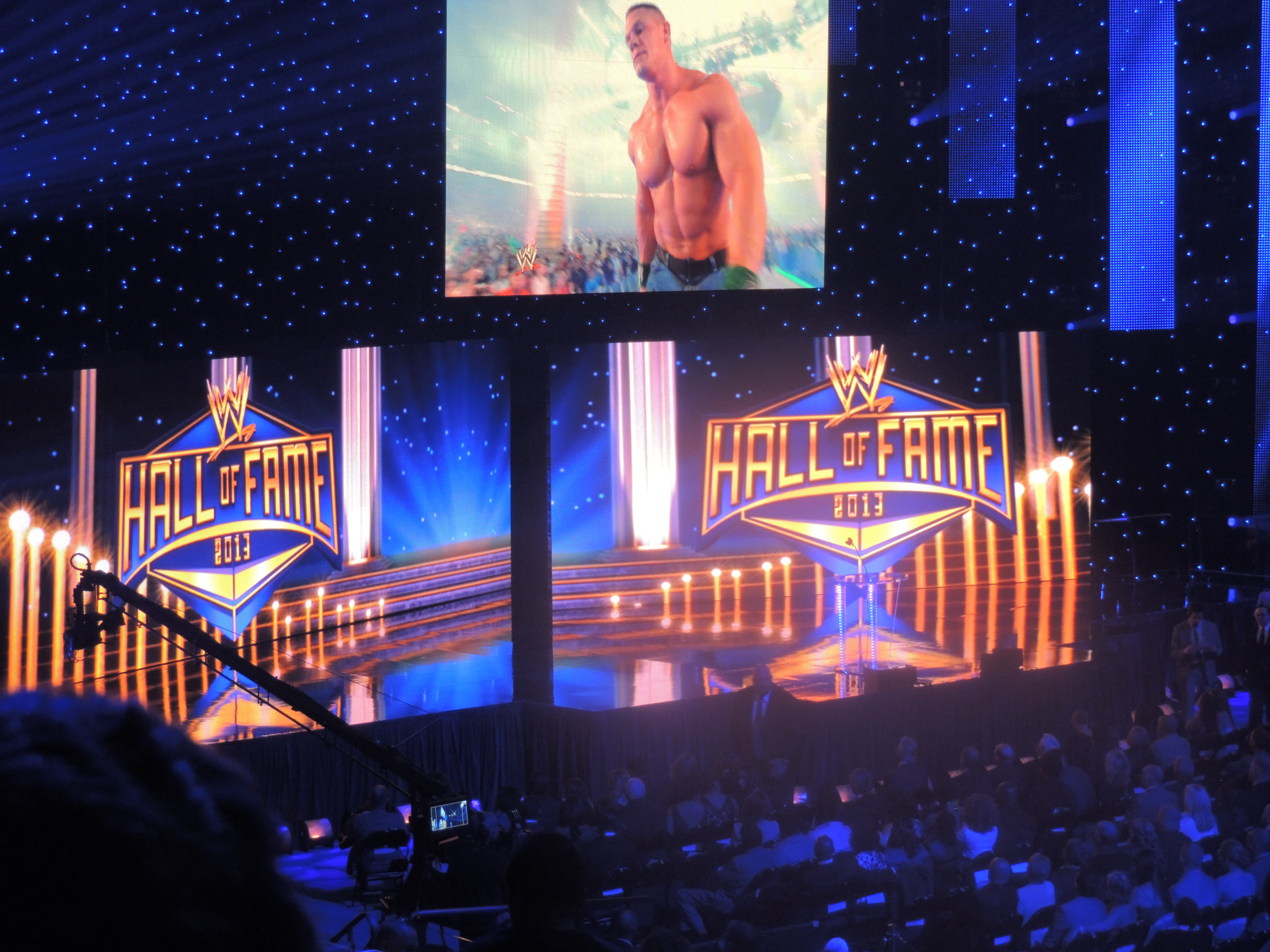 WWE Hall of Fame Class of 2013 Induction Ceremony ...
