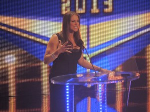 Stephanie Mcmahon Hall Of Fame 2013