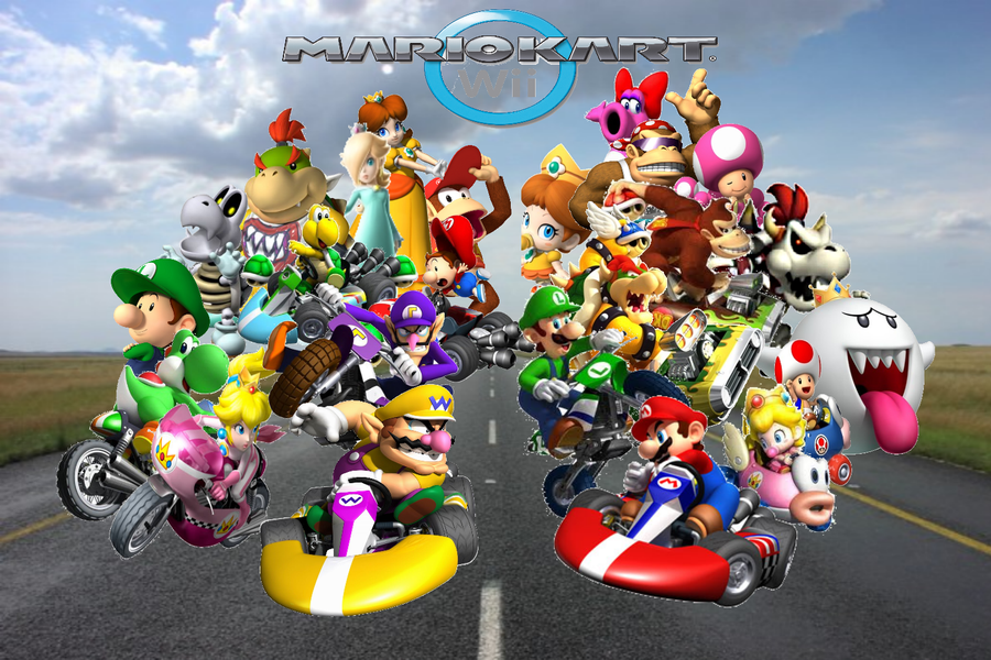 Games you probably should have played m insufficient - Mario kart wii personnages et vehicules ...
