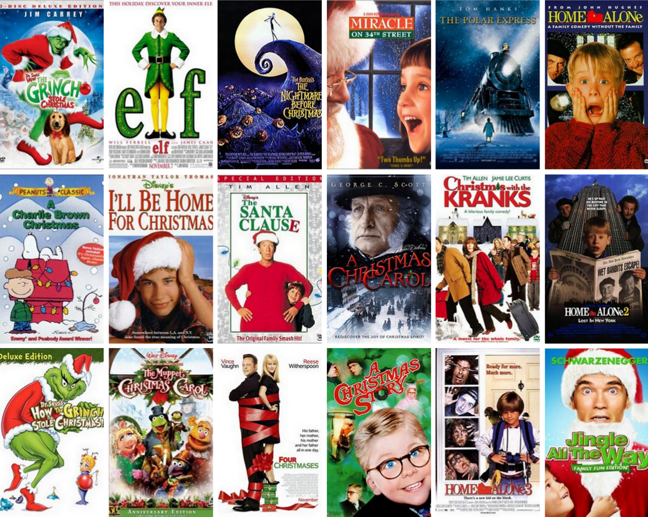 Saturday Six - Christmas Movies | Insufficient Scotty